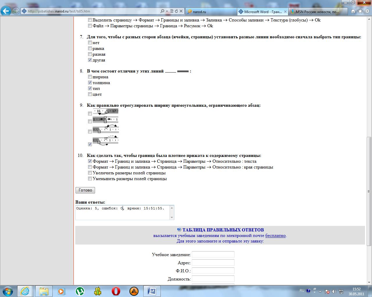 Как сделать отступ от фото в html