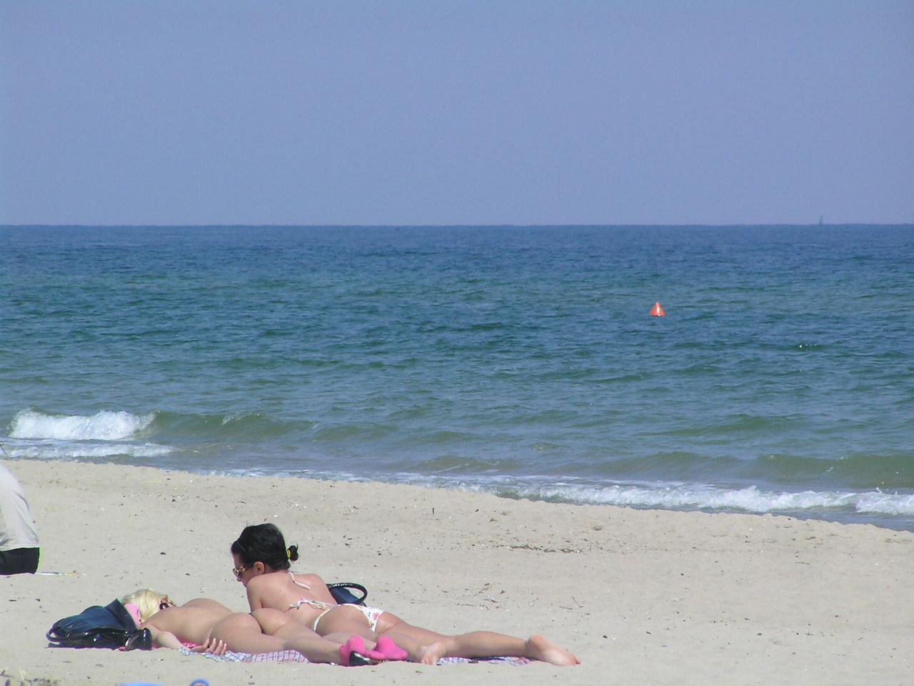 Пляжи в каролино бугаз фото